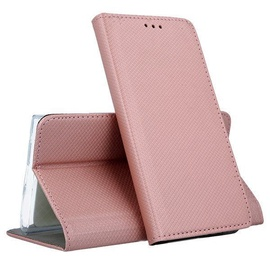 Mocco Smart Magnet Book Case For Samsung Galaxy A40 Rose Gold