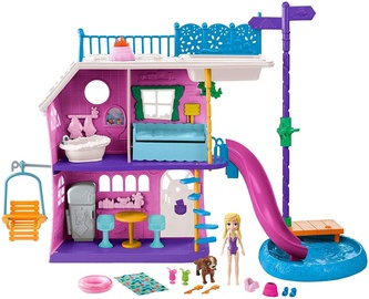 Mattel Polly Pocket Lil Lake House Playset GHY65