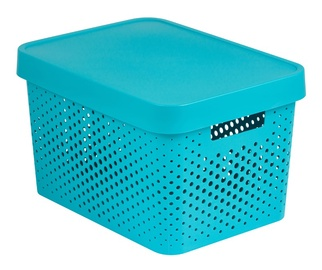 Curver Infinity Perforated Box 17l Blue