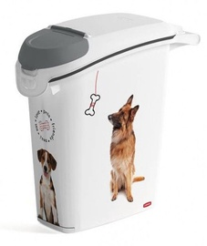 Curver Love Pets Dog Food Keeper 23.2x49.7x50.3cm 23l