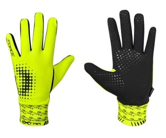 Force Extra Full Gloves Yellow/Black XL