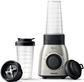 Philips Viva Collection Tabletop Blender HR3554/00 Black/Silver 0.6L