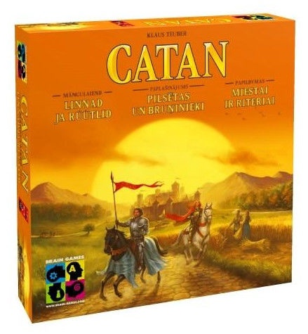 Brain Games Catan Cities & Knights