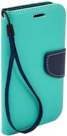 Telone Fancy Diary Bookstand Case For Samsung Galaxy J3 J330F Light Blue/Blue