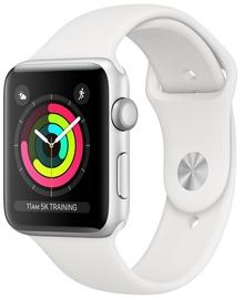 Apple Watch Series 3 42mm GPS Aluminium Silver/White Band