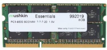 Mushkin Essentials 8GB 1066MHz CL7 DDR3 SO-DIMM 992019