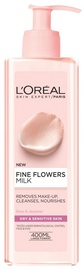 L´Oreal Paris Fine Flowers Cleansing Milk For Dry Or Sensitive Skin 400ml