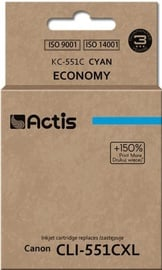 Actis Cartridge For Canon CLI-551 Cyan