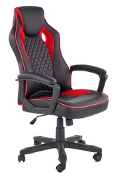 Halmar Baffin Office Chair Black/Red