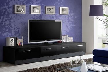 ТВ стол ASM Duo Black, 2000x450x350 мм