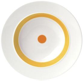 "ViceVersa Soup Plate ""The Dot"" 23.5cm Green"
