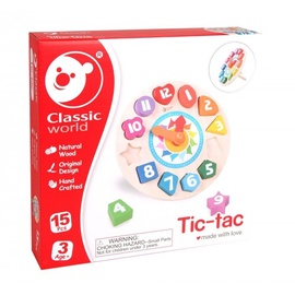 Arendav mänguasi puidust Kell Classic World Tic Tac 3655