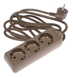 Okko Power Strip 3-Outlet 250V 16A 3m