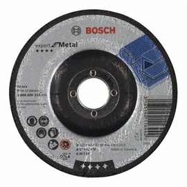 Bosch Metal Abrasive Grinding Disc 125x22x6mm