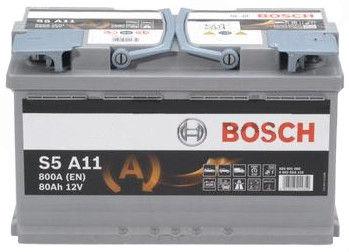 Bosch AGM S5 A11 Battery