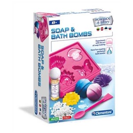 Hariv mäng Clementoni Soap And Bath Bombs 56043