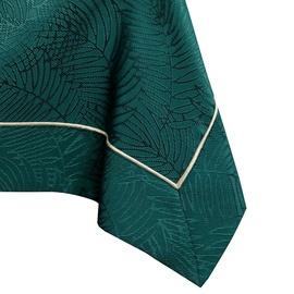 AmeliaHome Gaia Tablecloth PBG Bottle Green 110x140cm