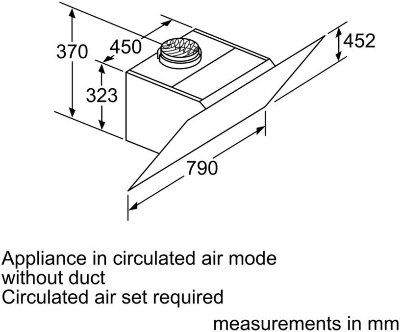 Õhupuhasti Siemens iQ300 LC87KHM60