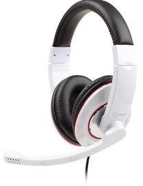 Gembird MHS-001-GW Glossy White Mic