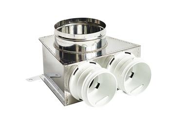 Rec Balticvent Duct Connector LDL 125-75x2