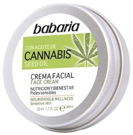 Крем для лица Babaria Cannabis Face Cream, 50 мл