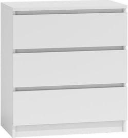 Kummut Top E Shop Malwa M3 White, 70x40x77 cm