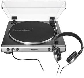 Audio-Technica AT-LP60XHP Black/Silver
