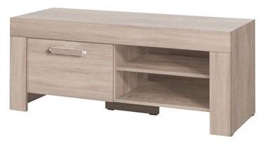 ТВ стол Jurek Meble Cezar Reg15 Sonoma Oak, 1200x520x510 мм