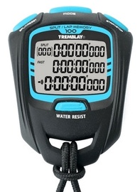 Tremblay CHRO108 Professional Stopwatch Black Blue