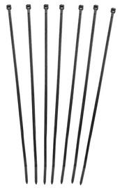 Qoltec Self-locking Cable Tie 3.6 x 300mm 100pcs Black