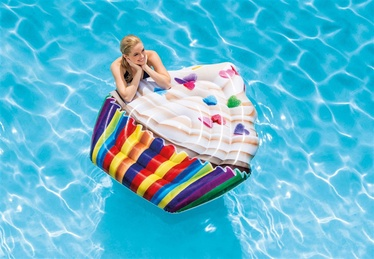 Intex Inflatable Cupcake Swimming Pool Mat 58770EU