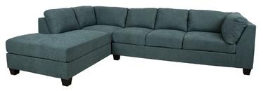 Угловой диван Home4you Helmy Green, левый, 210 x 309 x 82 см