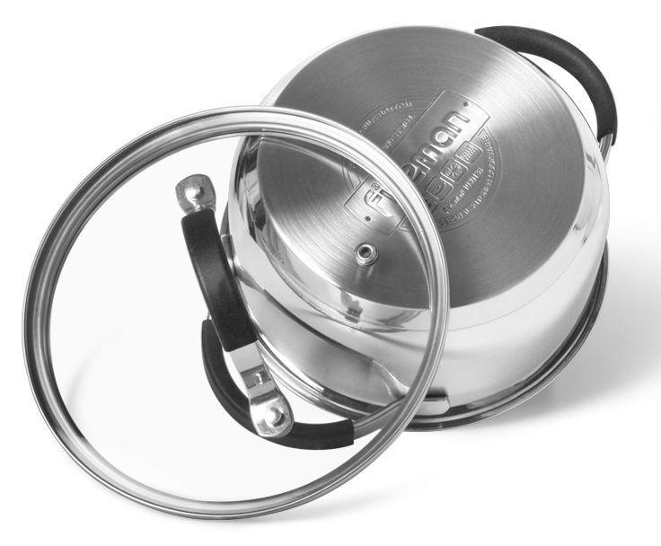 Fissman Magnifica Casserole With Glass Lid D16cm 1.5l