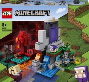 Konstruktor LEGO Minecraft The Ruined Portal 21172, 316 tk