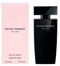 Narciso Rodriguez For Her 75ml EDT Generous Spray