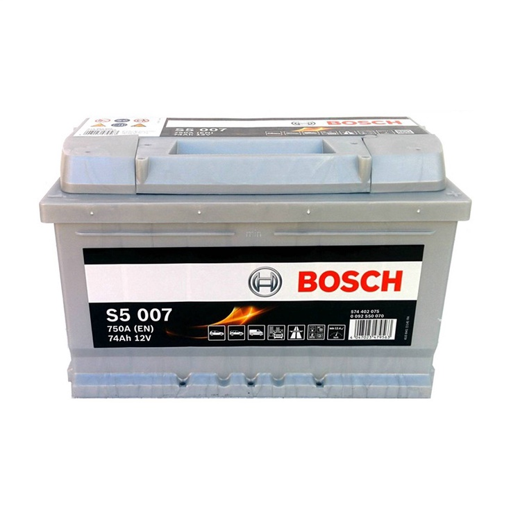 Aku Bosch S5, 74 Ah, 750 A, 12 V