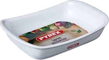 Pyrex Supreme Ceramic Roaster White 33x23cm