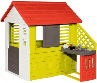 Smoby Nature Playhouse With Summer Kitchen 810702