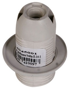 Reml Bulb Socket With A Ring E14-01 White