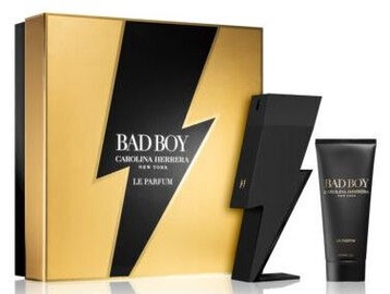 Набор для мужчин Carolina Herrera Bad Boy Le Parfum 2pcs Set 200ml EDP