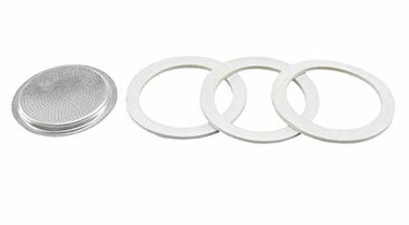 Bialetti 3 Gaskets For Aluminum TZ/12 TZ Coffee Makers
