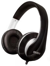 Sven AP-940MV Headphones w/Mic Black White