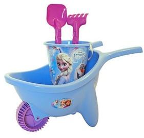 Liivakasti mänguasjade komplekt Adriatic Frozen, violetne/helesinine, 4 tk