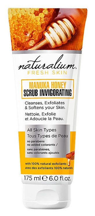 Naturalium Scrub Invigorating 175ml Manuka Honey
