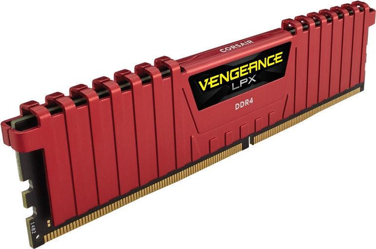 Corsair Vengeance LPX Red 32GB 3866MHz CL18 DDR4 KIT OF 4 CMK32GX4M4B3866C18R