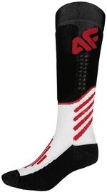 Носки 4F Sport, белый/черный/красный