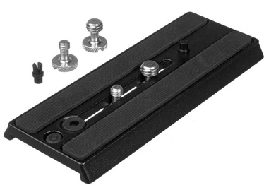 Manfrotto Sliding Plate with 2x1/4'' and 2x3/8'' Screws