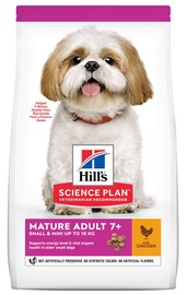 Hill's Science Plan Small & Mini Mature Adult Dog Food w/ Chicken 1.5kg