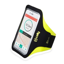Celly Armband For Smartphones Up To 6.5'' Yellow
