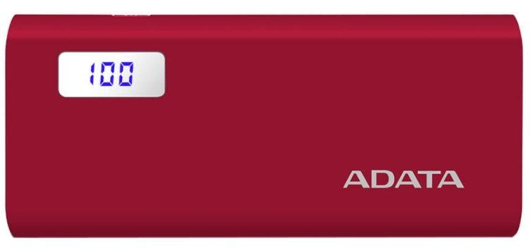 Väline aku ADATA P12500D Red, 12500 mAh